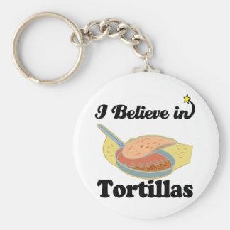 creo en tortillas llaveros personalizados