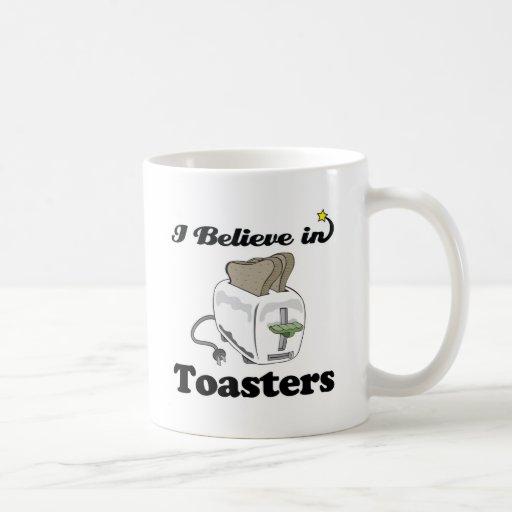 creo en tostadoras taza de café