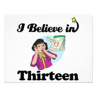 creo en trece comunicados personales