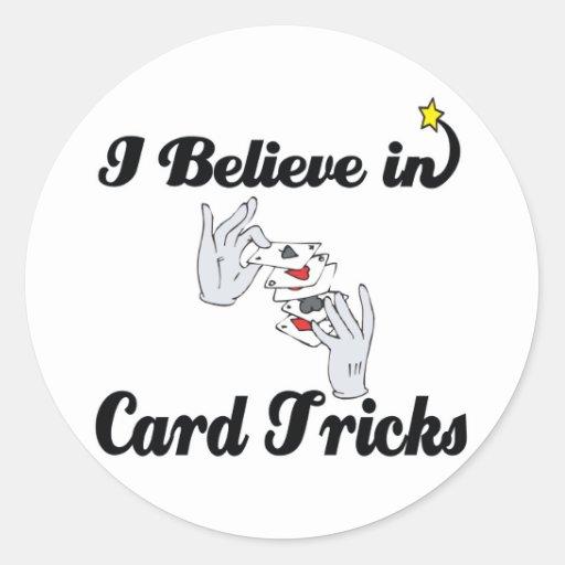 creo en trucos de cartas etiqueta