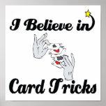 creo en trucos de cartas impresiones