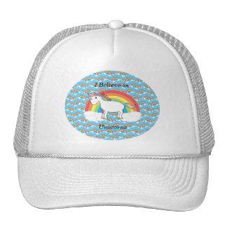 Creo en unicornios gorros bordados