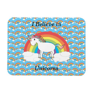 Creo en unicornios iman