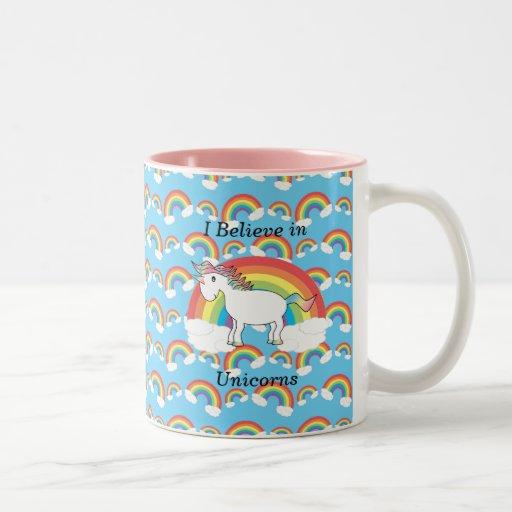 Creo en unicornios taza de café