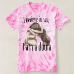 Creo en usted - la camisa del doula