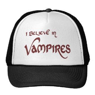 Creo en vampiros gorro