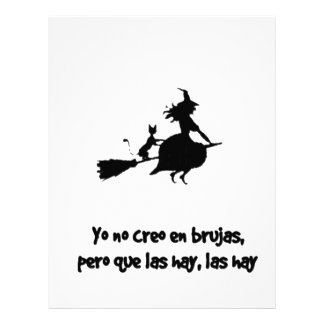 CREO EN WOOLS BRUJAS not I DO NOT BELIEVE WITCHES Letterhead