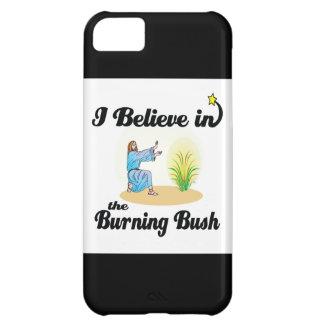 creo en zarza ardiente funda para iPhone 5C