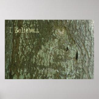 """Creo la corteza Camo del roble árbol de """"todo el o Póster"""