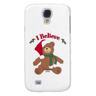 ¡Creo! Oso de peluche del navidad Funda Para Galaxy S4