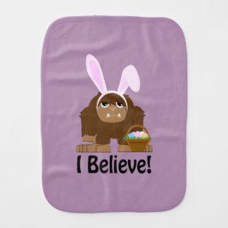 ¡Creo! Pascua Bigfoot Paños De Bebé