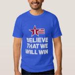 Creo que ganaremos la camiseta de los hombres del playera