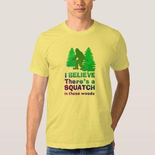 Creo que hay SQUATCH en estas maderas Camisas