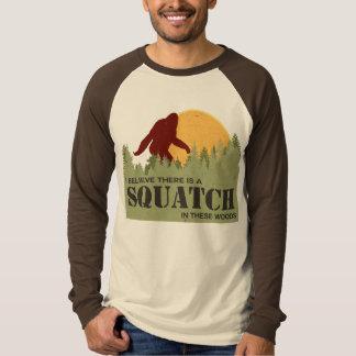 Creo que hay un Squatch en estas maderas Camisas