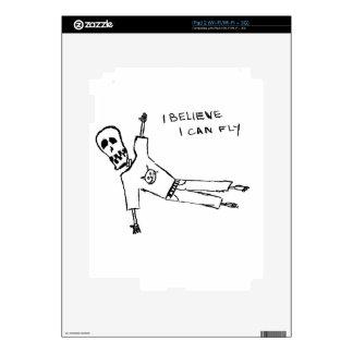 CREO que puedo volar Skin Para El iPad 2