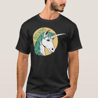 Creo unicornio playera