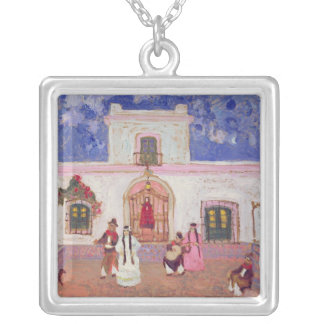 Creole Dance, before 1927 Square Pendant Necklace