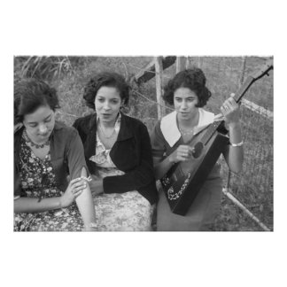 Creole Girls in Louisiana, 1930s Posters