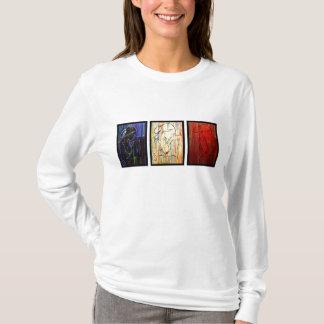 Creole Rain - drapeau tricolore T-Shirt