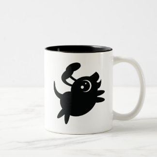 Crepe el perro tazas de café