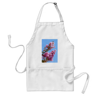 Crepe myrtle flower adult apron