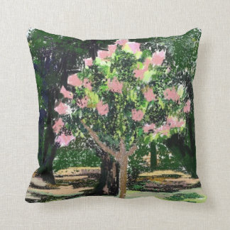 Crepe Myrtle Tree American Mojo Pillow