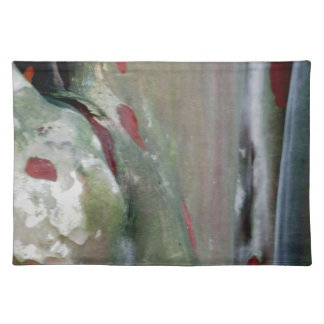 Crepe Myrtle Tree Bark Abstract Nature Photo Placemat