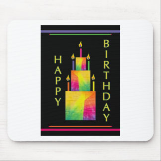 Crepe Paper Birthday Mouse Pad