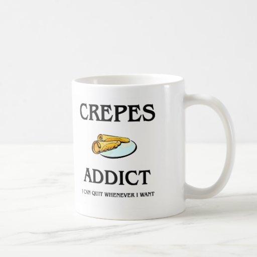 Crepes Addict Classic White Coffee Mug