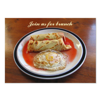Crêpes and Egg ~ invitation