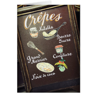 Crepes Card