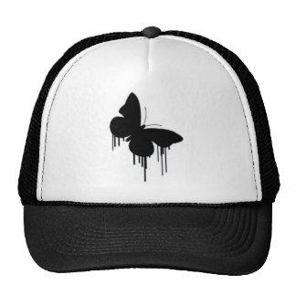 Crepes de la mariposa gorro de camionero