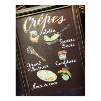 Crepes Postcards