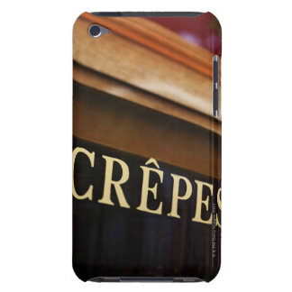 Crepes sign, Paris Barely There iPod Case