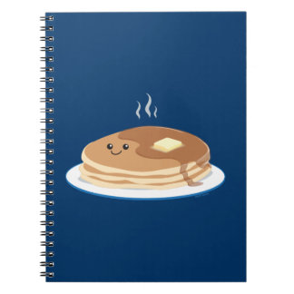 Crepes Spiral Notebook