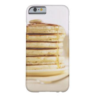 Crepes y jarabe de arce de fusión funda de iPhone 6 barely there