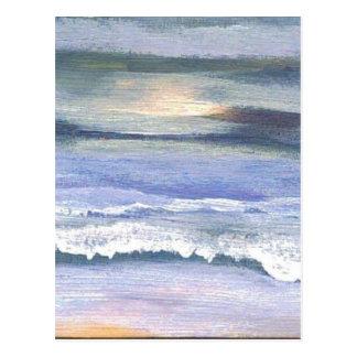 Crepúsculo - arte del océano de CricketDiane Tarjeta Postal