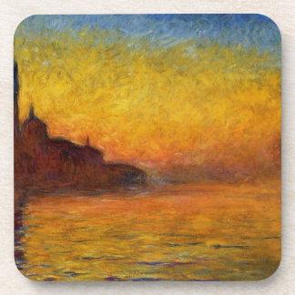 Crepúsculo de Claude Monet Venecia Posavaso