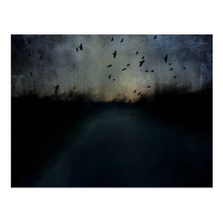 Crepúsculo de la textura tarjetas postales