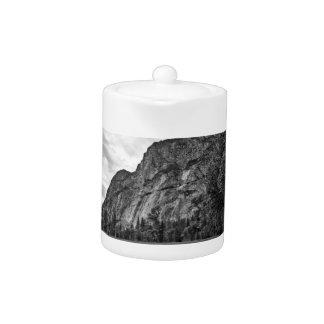 Crepúsculo de los prados de Yosemite negro y