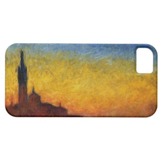 Crepúsculo de Monet en Venecia iPhone 5 Carcasa