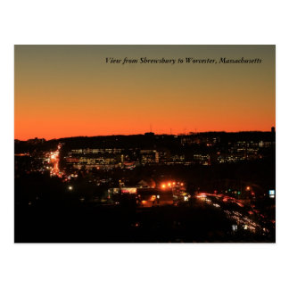 Crepúsculo de Shrewsbury Worcester Postal