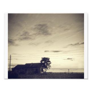 Crepúsculo de Tejas Foto