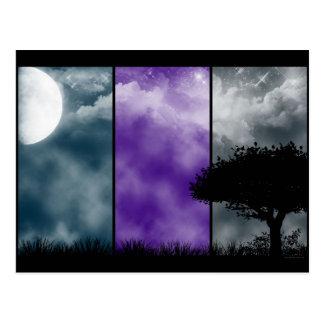 Crepúsculo del Dreamland Tarjeta Postal