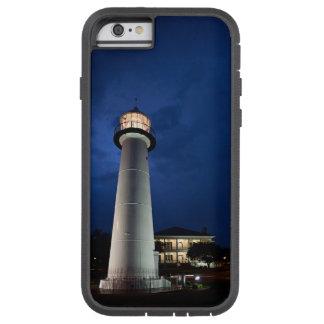 Crepúsculo del faro de Biloxi Funda Tough Xtreme iPhone 6