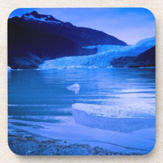 Crepúsculo del glaciar de Mendenhall Posavaso
