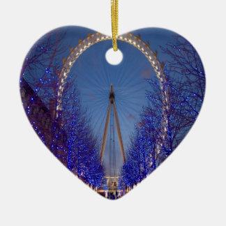 Crepúsculo del ojo de Londres Ornamentos Para Reyes Magos