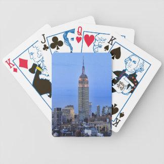 Crepúsculo: Empire State Building encendido encima Cartas De Juego
