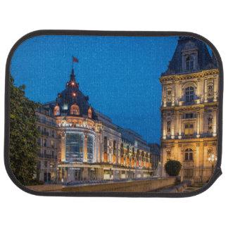 Crepúsculo en el Bazar de l'Hotel de Ville Alfombrilla De Coche