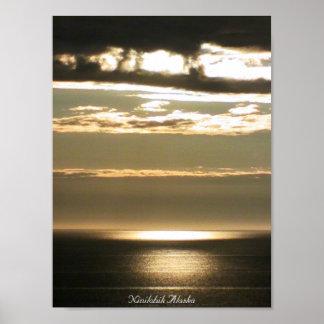 Crepúsculo en el Kenai Impresiones